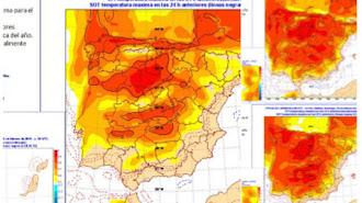 Previsión del tiempo en España para los próximos días (Foto: Aemet).