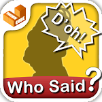 Who Said that? - catch phrases Icon