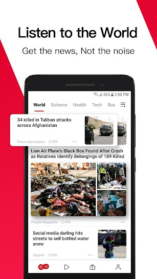 News Republic - Breaking and Trending News screenshot for Android