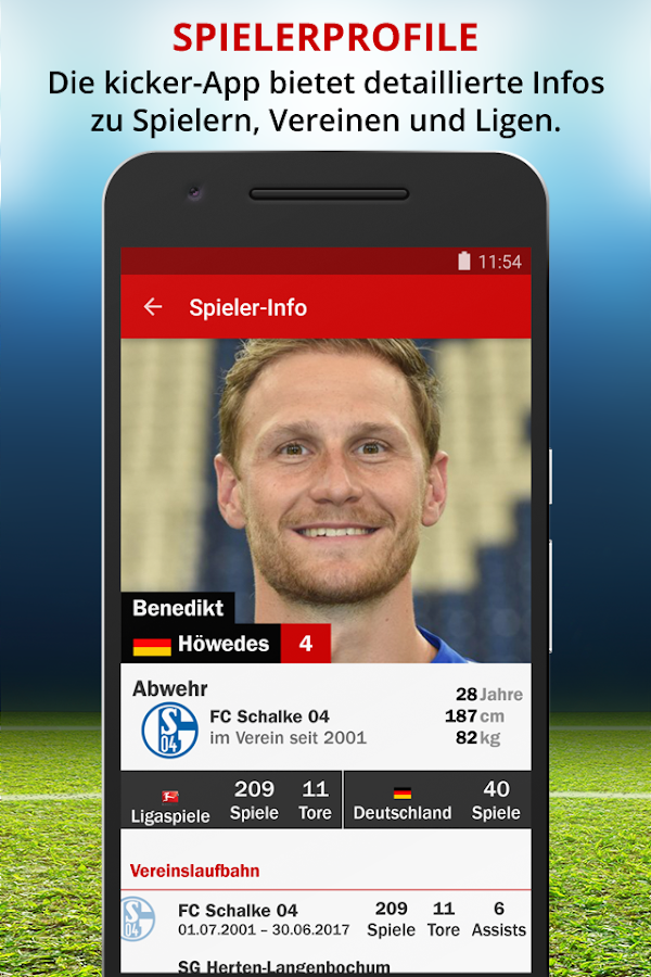 kicker - Fußball Bundesliga- screenshot