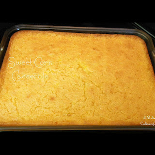 Sweet Corn Casserole Sugar Recipes