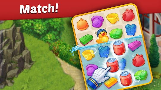 Family Hotel: Renovation & love storymatch-3 game Apk Download For Android 6