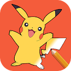 Learn How To Draw Pokemon Step By Step Easy icon