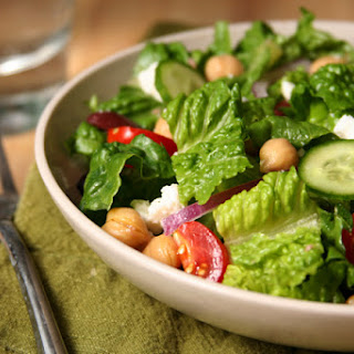 Mediterranean Chopped Salad (from Cook's Illustrated).