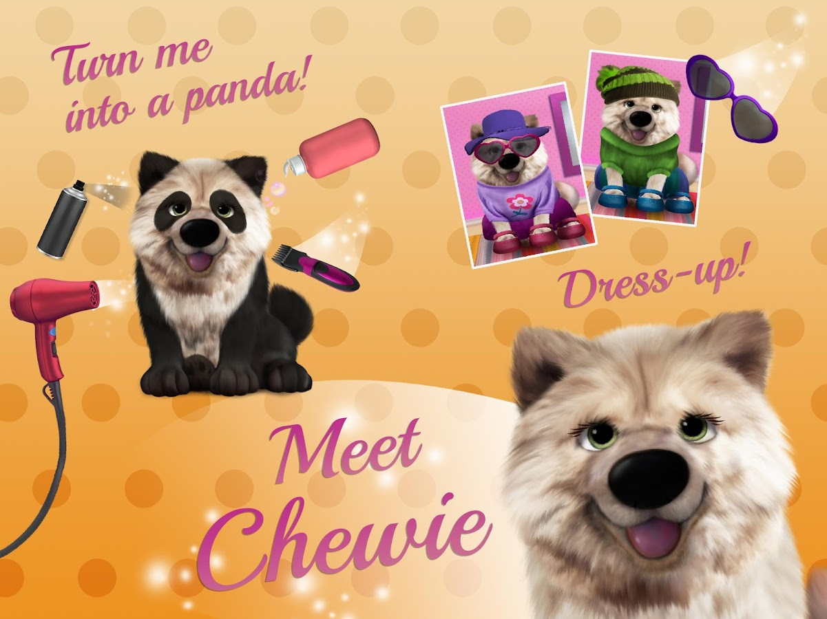 Lulu's Puppy Salon - Makeup, Dress Up & Playtime- screenshot