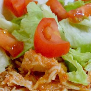 Crock Pot Shredded Chicken Tacos.