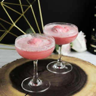 Champagne Floats Recipe