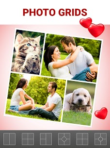 Love Collage Maker Mod Apk – Photo Editor & Heart Frames 4