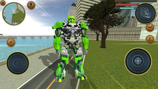Robot Truck Transformer US Police Robot War Games 5