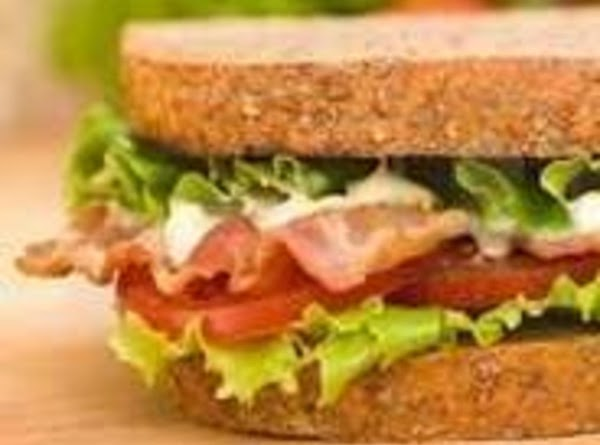 BLT SANDWICHES: Place about 3-4 strips cooked crisp bacon on a slice of toasted...
