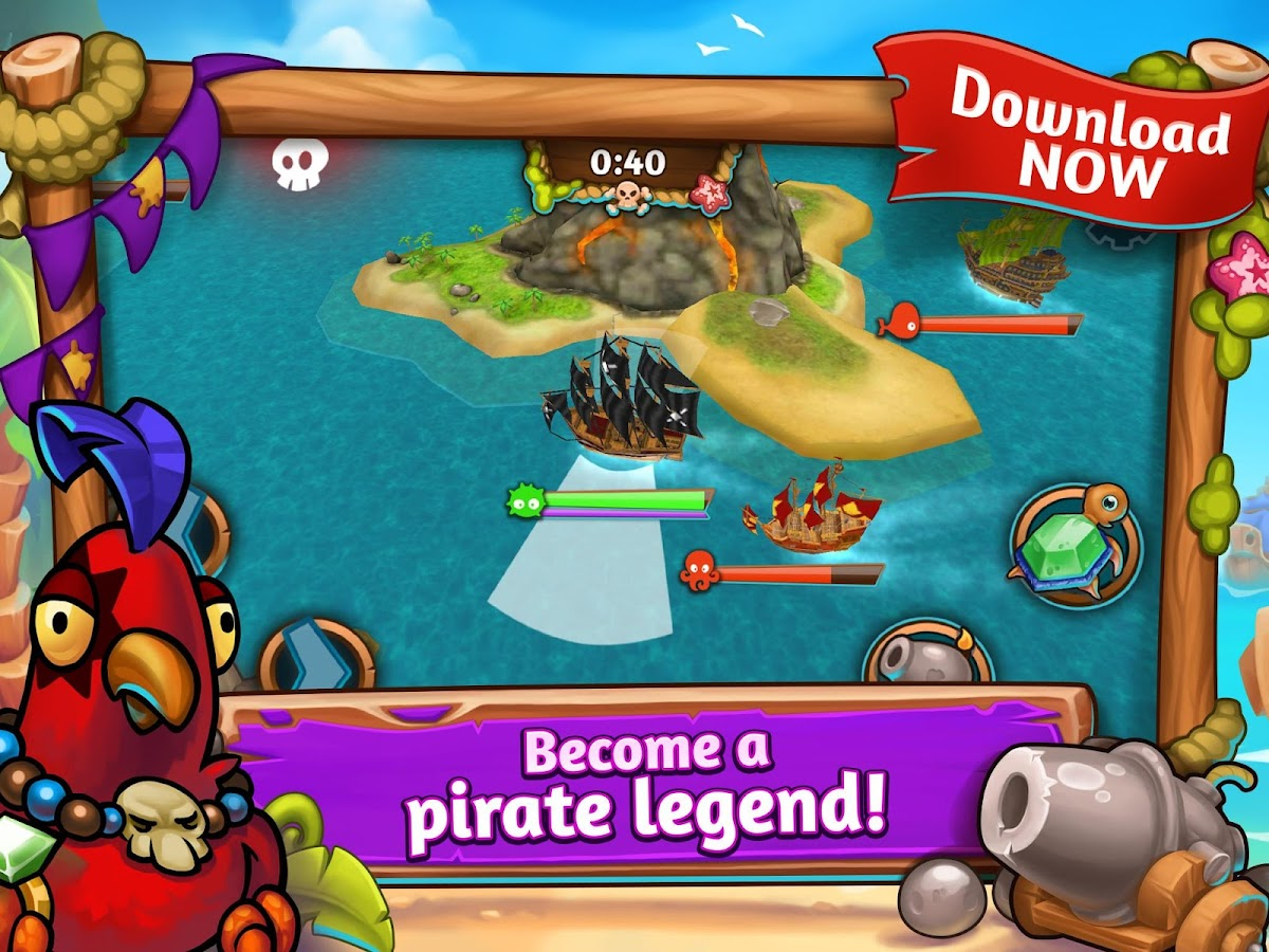 League of Pirates- screenshot