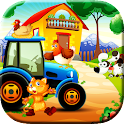 Animal Car Games for kids icon