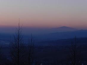 Photo: Wdżar, Pieniny/Gorce - w tle Babia Góra