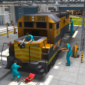 Train Repair Mechanic Garage