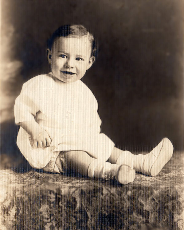 Don as a baby