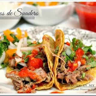 Tacos de Suadero.
