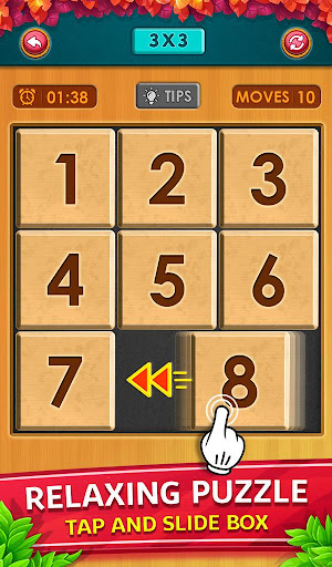 Number Puzzle - Classic Slide Puzzle - Num Riddle android2mod screenshots 7