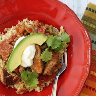 Slow Cooker Pork and Green Chile Stew.
