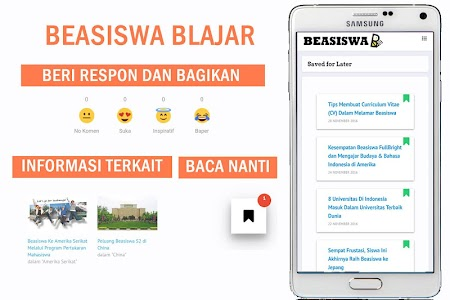 Beasiswa BLAJAR (Scholarship) screenshot 1