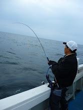 Photo: イワオさんも! 真鯛ゲット!