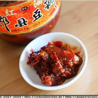 White Radish In Szechuan Hot Bean Paste.