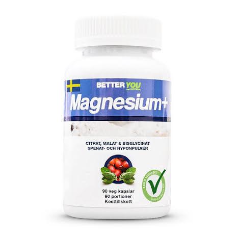 Better You Magnesium Plus - 90 kapslar
