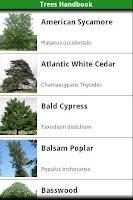 Screenshot of North American Trees!