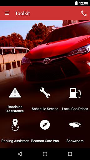 Beaman Toyota DealerApp