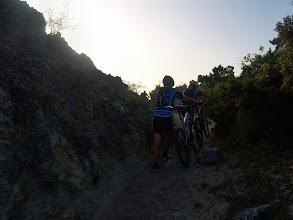 Photo: Subida del Alto del Corosuna