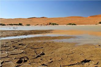 Photo: ultima acqua nel sossusvlei