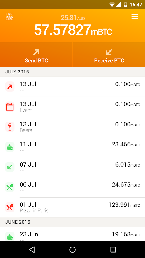 EI8HT Wallet- screenshot