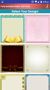 Make Party Invitation Cards - náhled