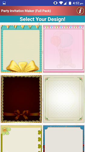 Download Make Party Invitation Cards Apk Latest Version App
