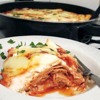 Stovetop Chicken Lasagna.