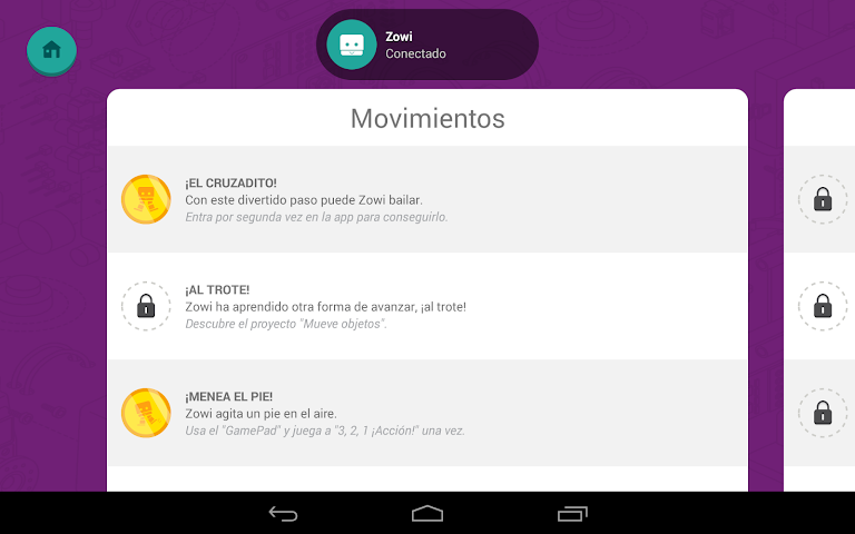 android Zowi App Screenshot 23