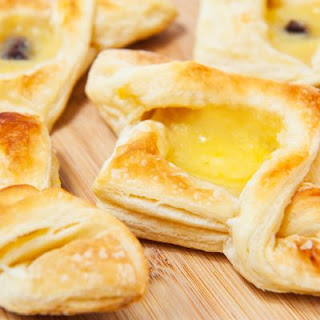 Lemon Curd Danish.