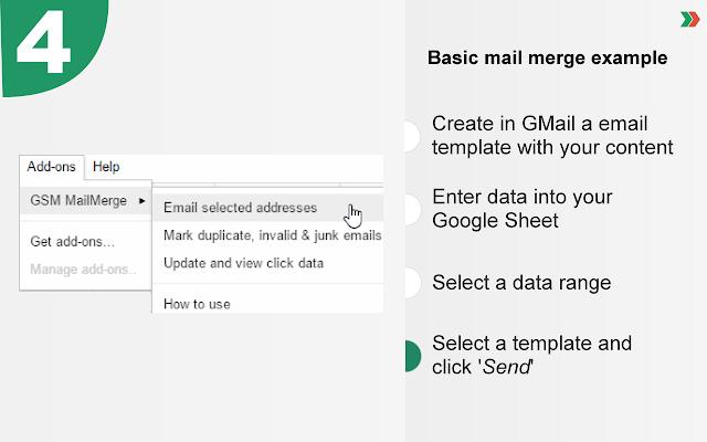 GSM MailMerge - Google Sheets add-on
