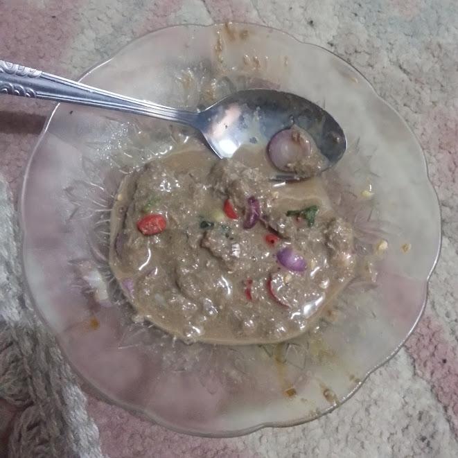 Sambal Rusik khas Bangka.
