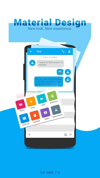 GO SMS Pro - Messenger, Free Themes, Emoji- screenshot