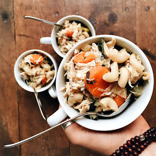 Elbow Macaroni Chicken Noodle Soup.