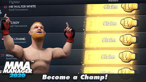 MMA Manager apkmr screenshots 5