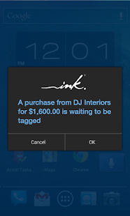 Ink® app- screenshot thumbnail