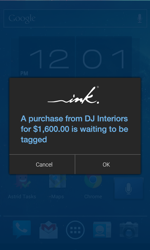 Ink® app- screenshot