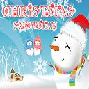 Christmas Snowman Puzzle Icon