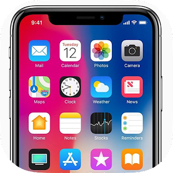 Phone X Launcher, OS 12 iLauncher & Control Center