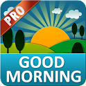 Good Morning Messages PRO icon