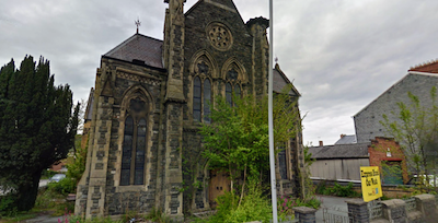 Police confirm arson attempt on former church