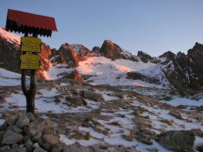 Photo: Svítání před Zbojníckou chatou