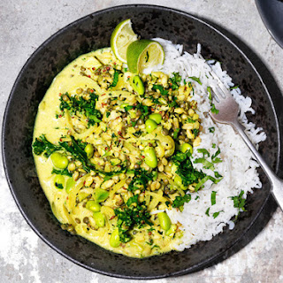 Wheatberry and Lentil Curry Recipe