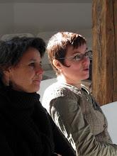Photo: Veerle Moureau (Davidsfonds) en Rébecca Dautremer - de jury.